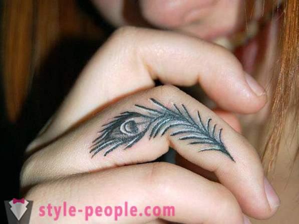 Tetovaže Na Prste Modni Trend
